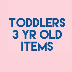 TODDLER 3T ITEMS